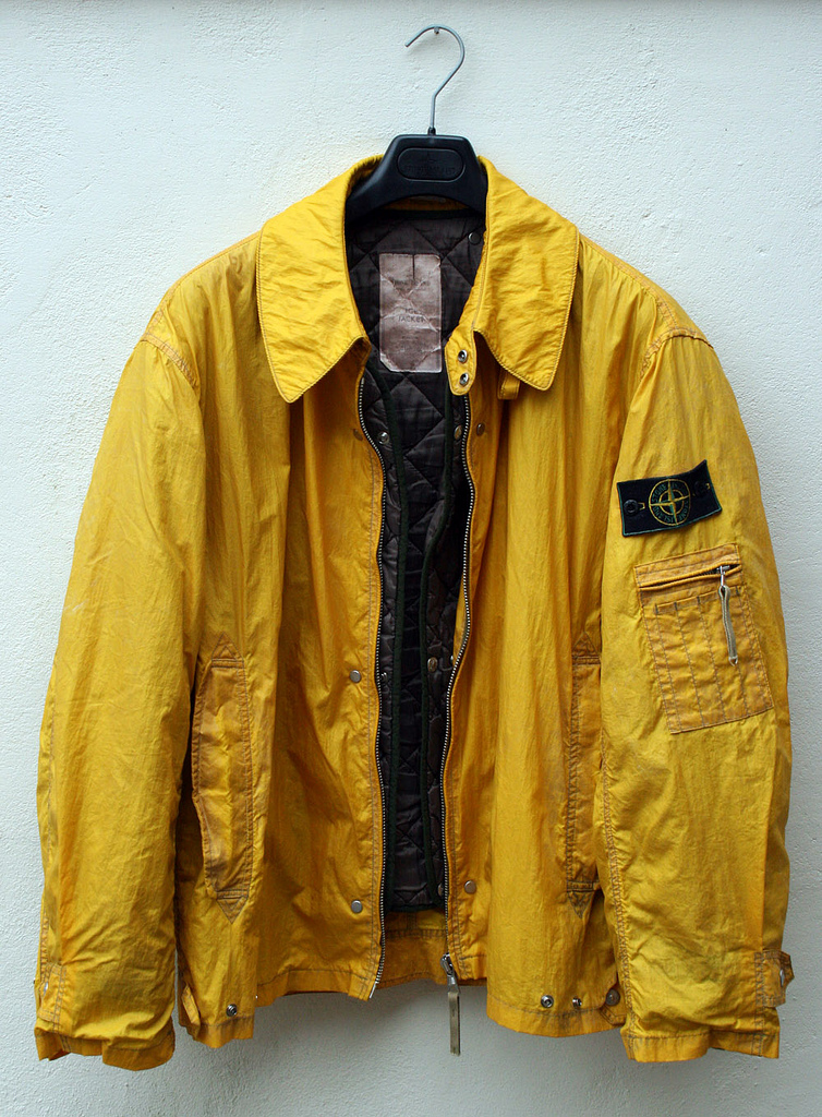 stone island ice jacket yellow. Black Bedroom Furniture Sets. Home Design Ideas